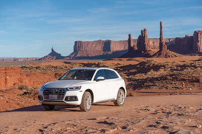 Audi in the Desert