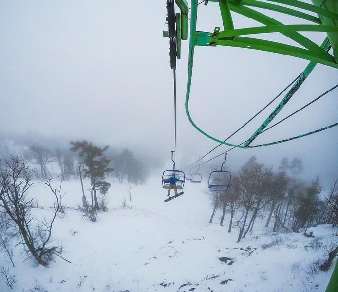 Back onto the slopes