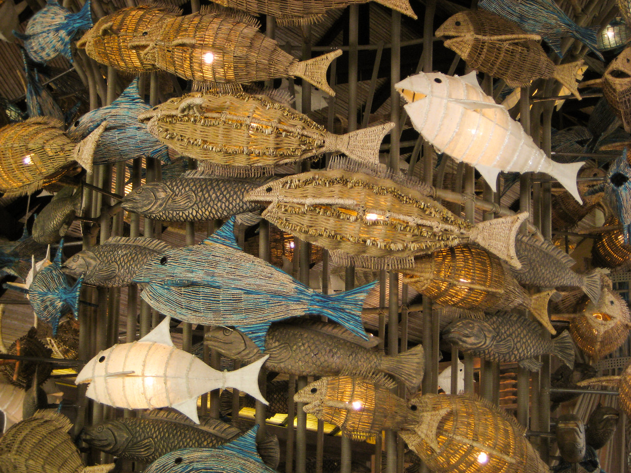 Fishy decorations