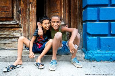 Kids on Havana street!