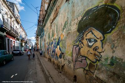 Havana Street scene and art!