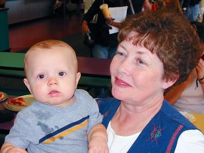 Grandma holding Conner
