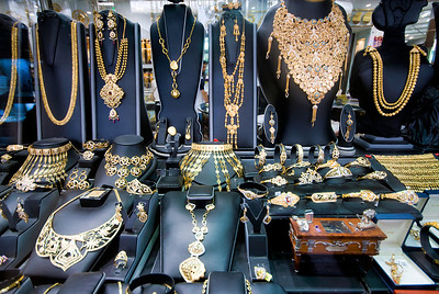 Dubai also has a large gold market