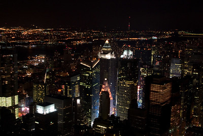 From the Empire State Building, Looking Northeast.