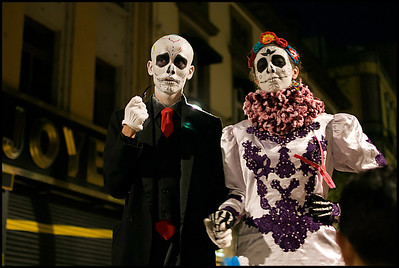 Day of the Dead was everywhere.