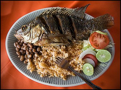 When you order fish in Mexico, you get . . . fish!