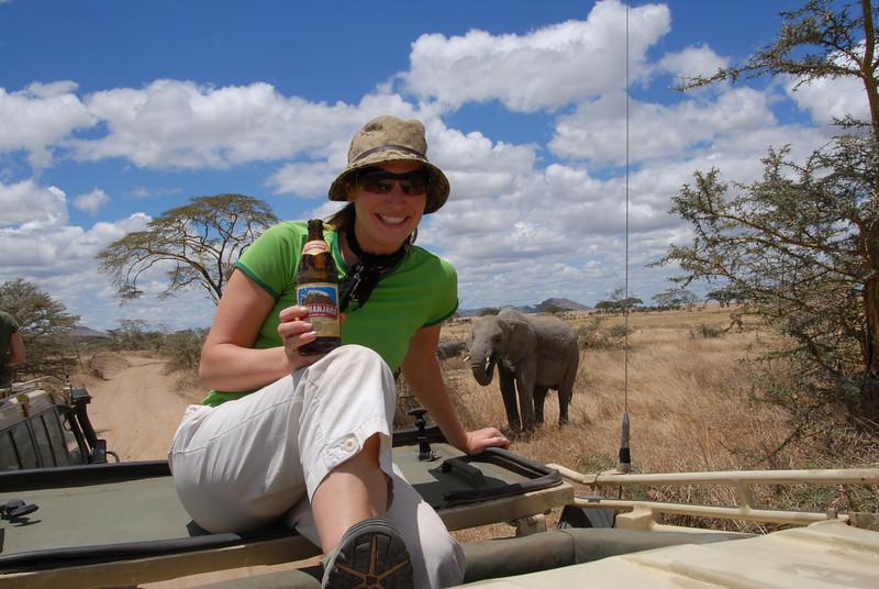 Safari in the Serengeti. Oct. 2006