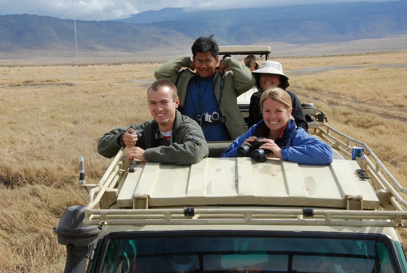 Safari. Ngorongoro Crater, Tanzania. Oct. 2006