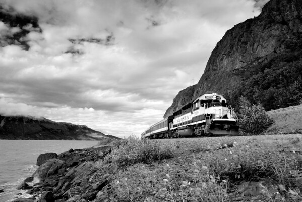Alaska Train  Commuting on this train doesn't sound bad at all.