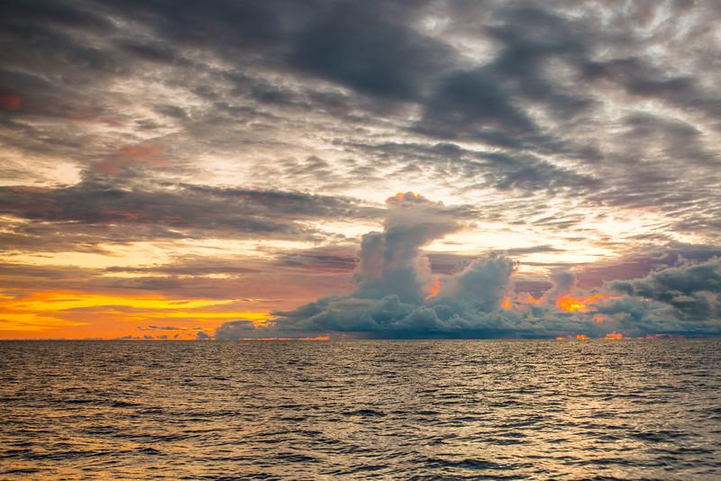 Pacific Ocean Sunrise-3