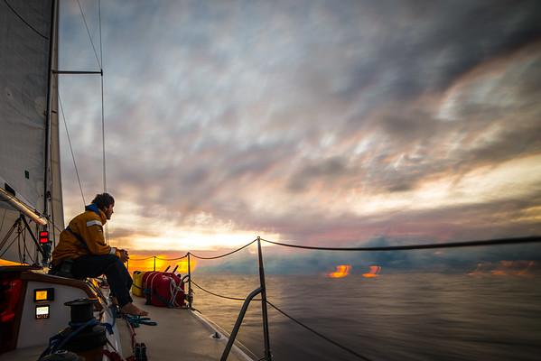 Pacific Ocean Sunrise-1