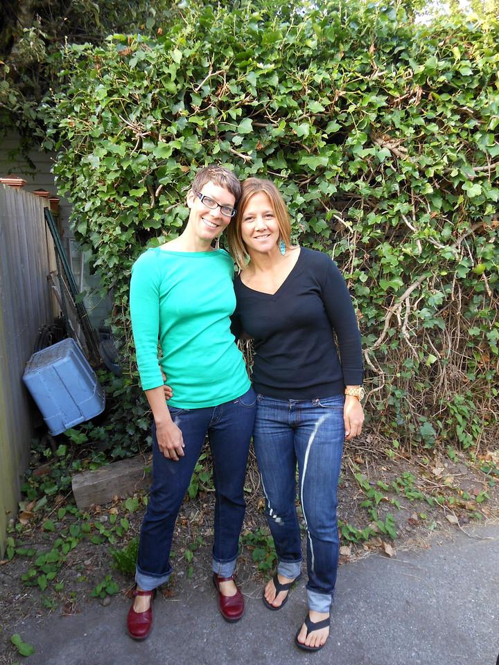 Me & Jen in Bellingham