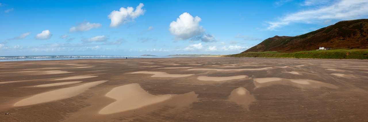 Rhossili low tide