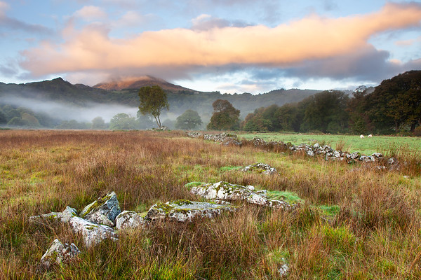 Misty Snowdonian morning