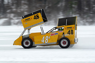 Warners Lake Ice Racing