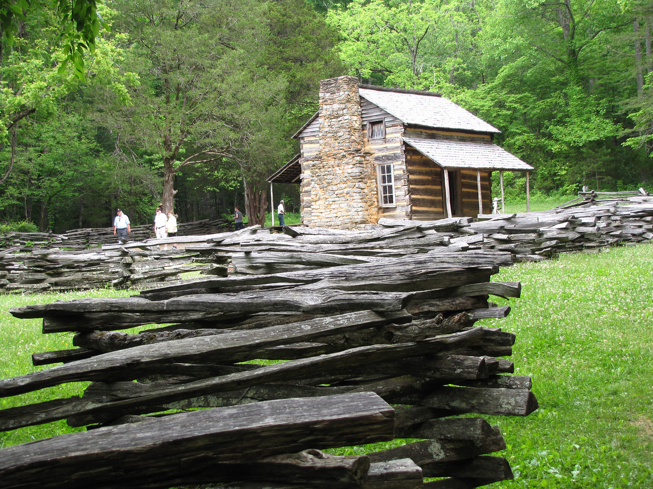 John Oliver's Cabin built ~1822.
