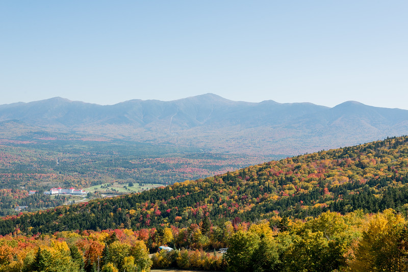 Mount Washington and its Resort As Viewed from Lattitude 44 at Bretton Woods