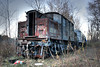 Not only is this in the middle of the woods in Albany, but its also over 100 years old, was the first successful electric train, and was the inspiration for all those Lionel model choo-choos. It spent most of its life moving cars around Grand Central Terminal.
