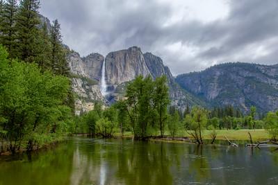 Merced River & Yosemite Falls