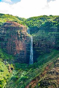Jurassic Falls, Kauai Hawaii