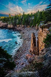The Monolith, Acadia National Park