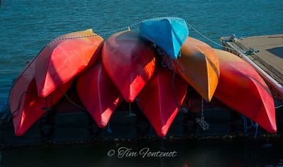 Canoes At the Ready