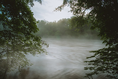 Foggy Chattahoochee Evening