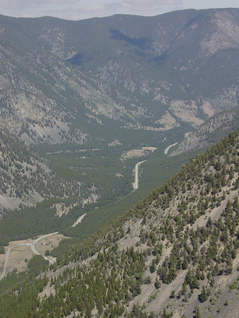 The Beartooth Highway, Montana