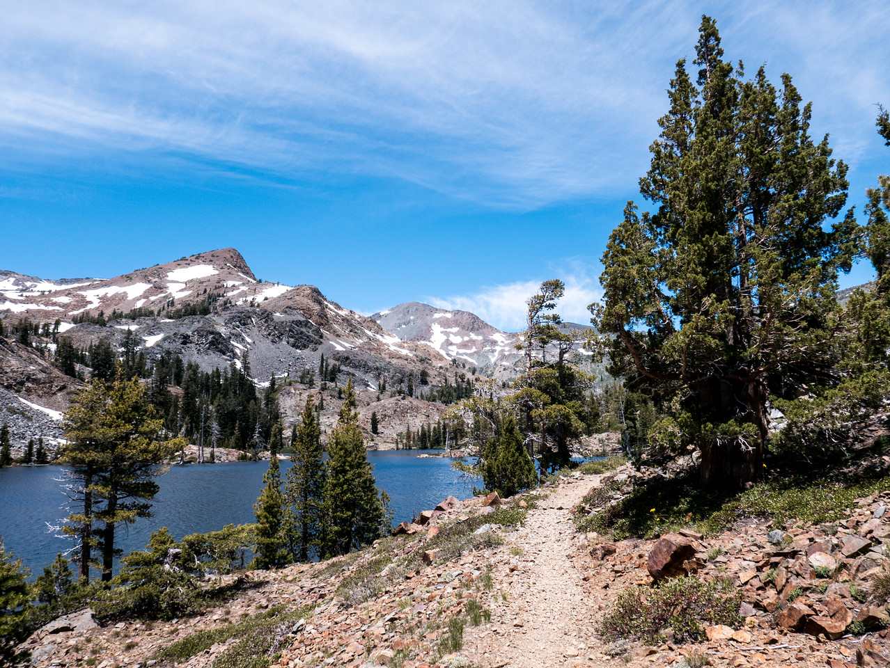 Susie Lake and the PCT