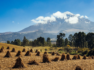 Fields below Orizaba
