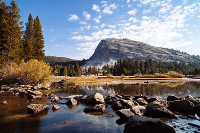 Lembert Dome and Tuolumne River