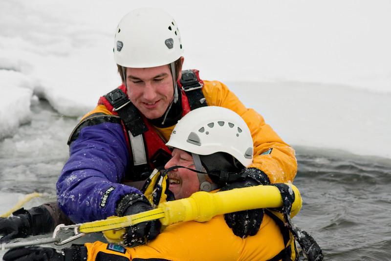 Bill getting rescued