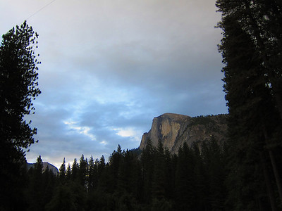 Half Dome from Curry Village.