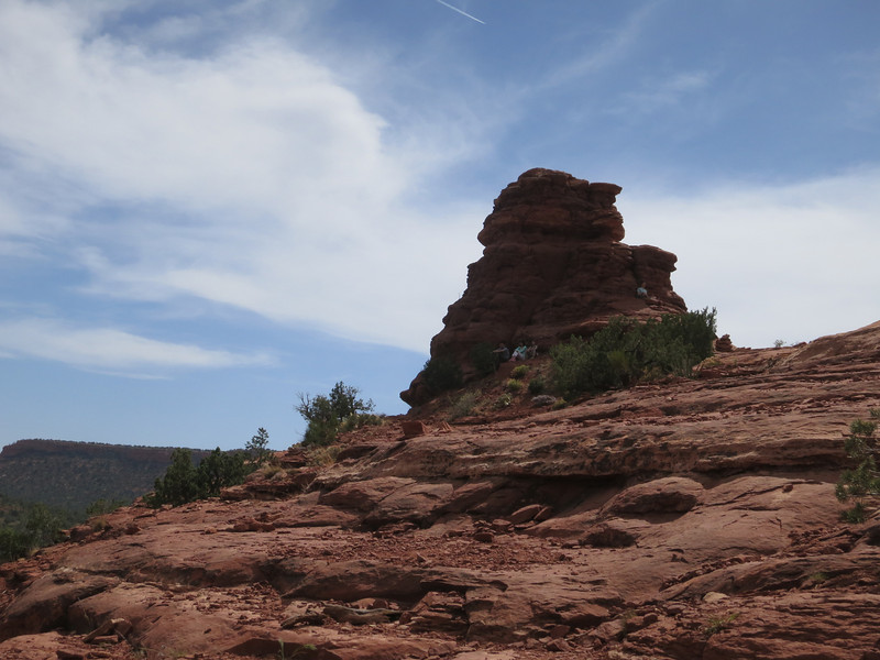OK - back to that early rock formation.