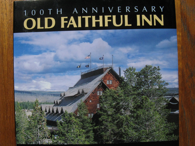 At last, time to claim our highly-coveted room in the historic Old Faithful Inn for our final night. Our room was in the Old House, shown here, which opened in 1904.
