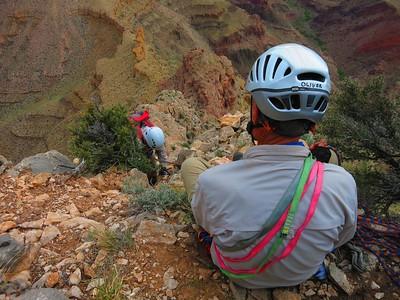 Adventuring on Cheops Pyramid, Grand Canyon, May 3-6, 2015