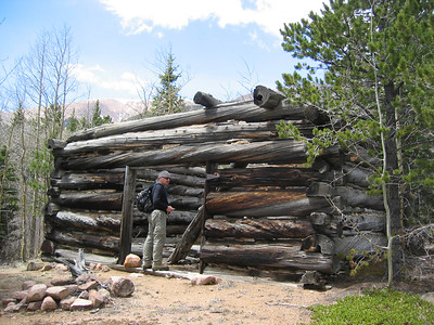 Not at Barr Camp.  Where did they get those timbers?