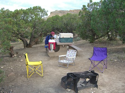 I got there mid-afternoon Friday - still in time for a great campsite.