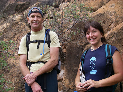 Bo and Randi - great climbers and excellent companions for us.