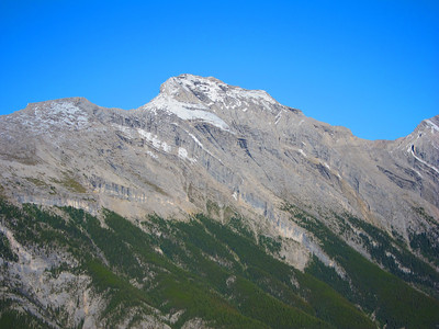 Mt Rundle as seen from top of Sulphur Mtn, the day before my climb.