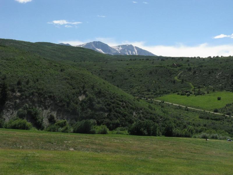East summit on left; west summit on right.
