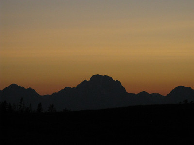 Mt. Moran - 12,605'.