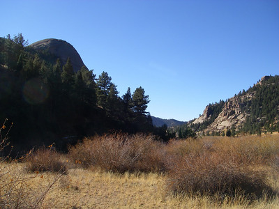 OK - Dome Rock coming up here on the left.  The other dome is on the right, just out of sight.