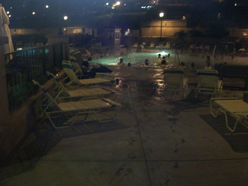 The highlight of our day - hot showers and hot pool in Glenwood Springs.   Then dinner at Qdoba.