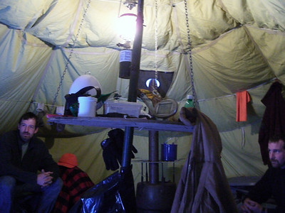 Life in the yurt.
