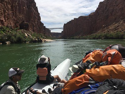 A Greg shot - Navajo Bridges, our first landmark.