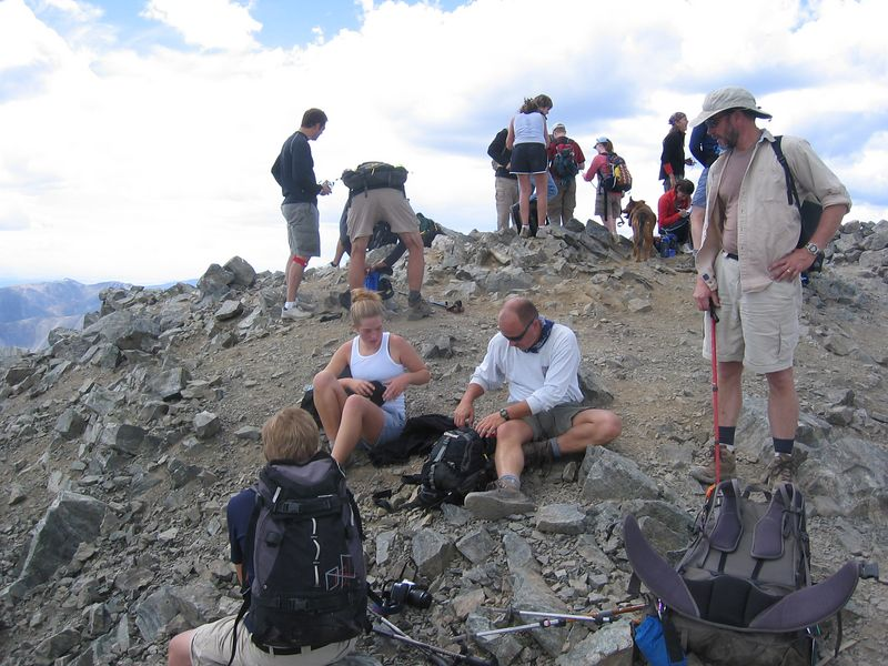 All Right! - Victory on 14er #2: Torreys Pk (14,267').