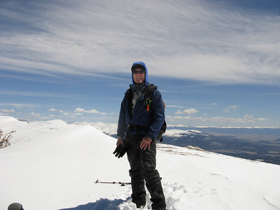 Highs and Lows on Mt Sherman, 5/17/10