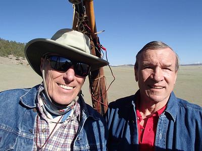 Co-pilot Bill and Captn Geoff. :)