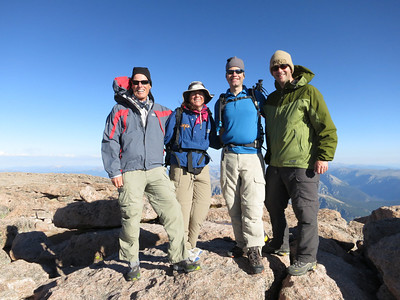 Longs Peak by the Keyhole - 7/31/12